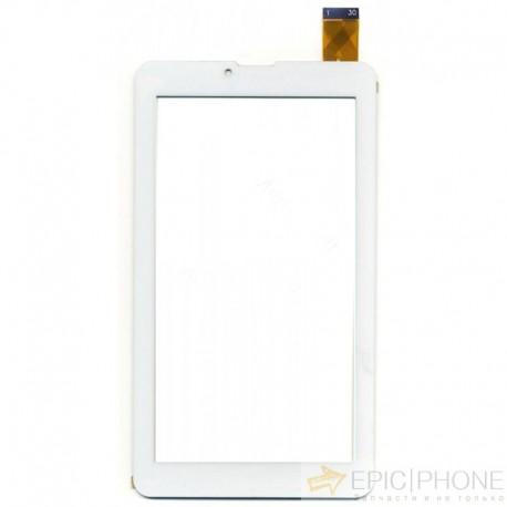 Тачскрин(сенсор) для Lexand SB7 Pro HD Белый