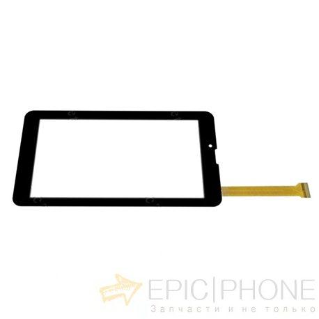 Тачскрин(сенсор) для RoverPad Pro Q7 LTE Черный - тип2