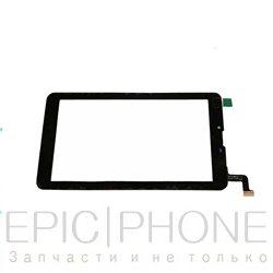 Тачскрин(сенсор) для Digma HIT 4G HT7074ML Черный